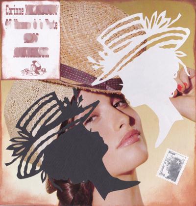 belle au chapeau