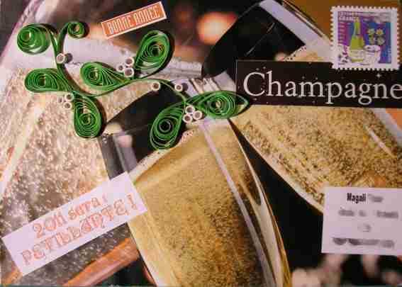 champagne et gui