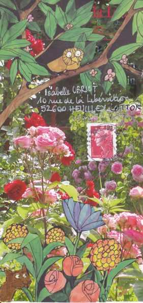 chouette jardin