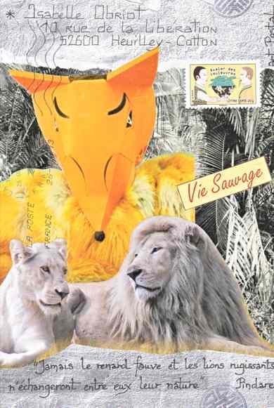 lions et renard