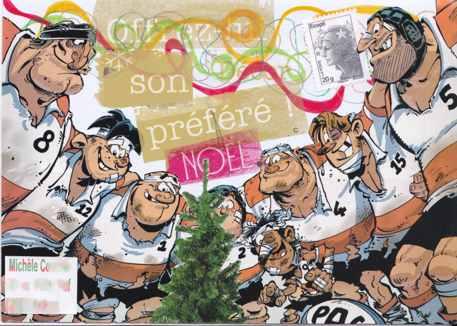 le sapin des rugbymen