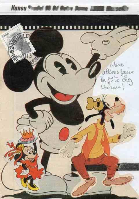 Mickey, Minnie et dingo