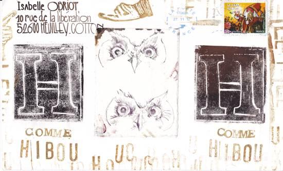 le H de Hibou