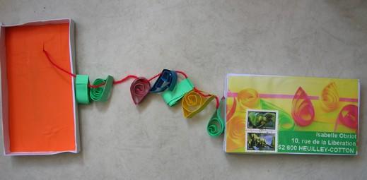 paperolle et corde à linge